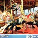 Carousel Dark Horse - 500 Piece Jigsaw Puzzle
