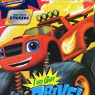 Blaze & the Monster Machines Coloring & Activity Book (Includes Stickers)