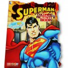 Superman Shaped Coloring & Activity Book with Stickers