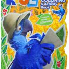 Rio 2 Coloring & Activity Book w/ Over 30 Stickers!