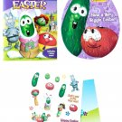 Dayspring Veggie Tales 'Twas The Night Before Easter Fun Activity Set with Coloring Pad