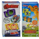 Deluxe Marvel Avengers and Disney The Lion Guard Memory Match Game