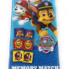 Kids Hot SELLER 8 Piece Nickelodeon Memory Match Game Marshall's Paw Patrol Game