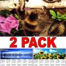 Baby Animals - 16 Month 2018 Wall Calendar Scheduler Organizer + Bonus 2018 Magnetic Calendar
