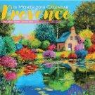 Provence 2018 Premium Wall Calendar (16-month)