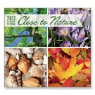 16 Month Wall Calendar 2018 - Close to Nature - Each Month Displays Full-Color Photograph.