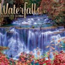 Waterfalls 2018 Wall Calendar (16-month)