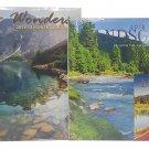2018 Wall Calendar Set of 3 - Each Month Displays Full-Color Photograph - Planning Calendar