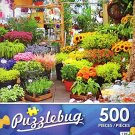 Flower Market - 500 Piece Jigsaw Puzzle - Puzzlebug - p 002