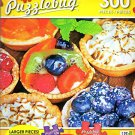 Blueberry and Peach pies on Display - 300 Large Pieces Jigsaw Puzzle - Puzzlebug - p 003