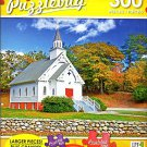 New England Church - 300 Large Pieces Jigsaw Puzzle - Puzzlebug - p 003