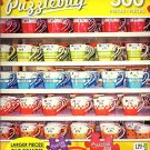 Rows of Colorful Coffee Cups - 300 Large Pieces Jigsaw Puzzle - Puzzlebug - p 003
