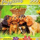 Cavalier King Charles Spaniel Puppies - 300 Large Pieces Jigsaw Puzzle - Puzzlebug - p 003