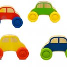 Wood Works Stacking Cars - 2 Wooden Stacking Cars