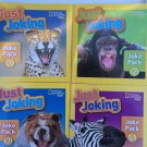 National Geographic Kids Just Joking Joke Pack 1-4