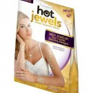 Hot Jewels Metallic Temporary Tattoos Body Jewelry (Classic Collection)