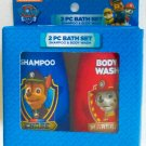 Paw Patrol 2 Piece Bath Set - Shampoo and Body Wash - Chase Marshall