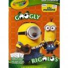 Crayola Googly Eye Minions Coloring Book