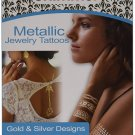 As Seen On TV Shimmer Metallic Jewelry Tattoos