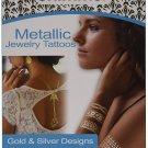 As Seen On TV Shimmer Metallic Jewelry Tattoos