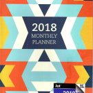 2018 Personal Monthly Planner / Calendar / Organizer - Monthly Page Format - v8