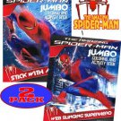 The Amazing Spider-man? Movie Coloring and Activity Book Set (2 Books ~ 96 pgs each)
