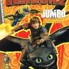 How to Train Your Dragon 2 Jumbo Coloring and Activity Book Set of 2