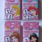 Disney Princess 4 Deck Learning Flash Cards
