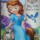 Sofia the First Big Fun Book to Color ~ Cute & Cuddly