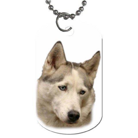 Siberian Husky Dog Tag Necklace Chain - 12099474