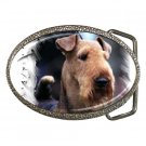 Airedale Terrier Belt Buckle 12100159