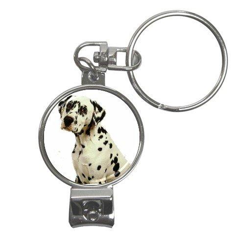Dalmatian Nail Clippers Key Chain 12100116