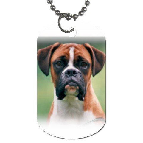 Boxer Dog Tag Necklace Chain - 12099477