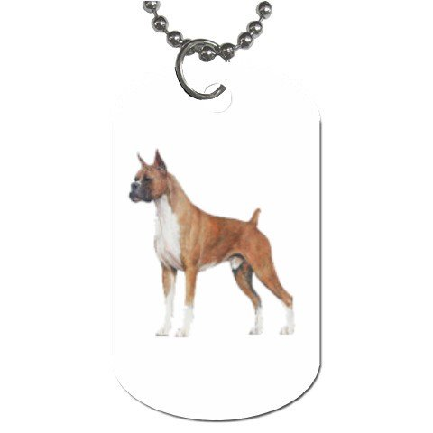 Boxer Dog Tag Necklace Chain - 12099476