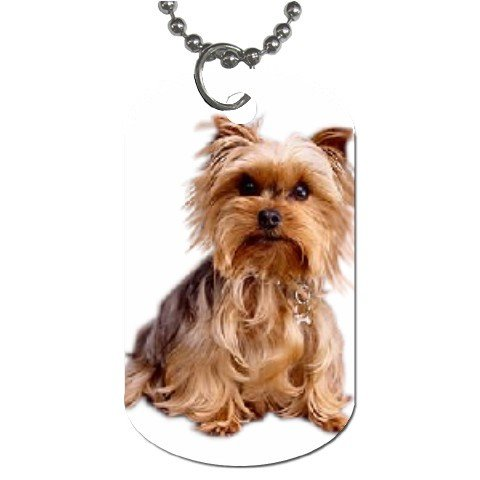 Yorkshire Terrier Yorkie Dog Tag Necklace Chain - 12111027
