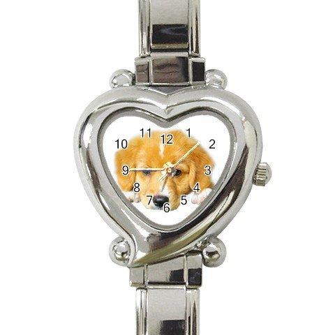 Pup Heart Italian Charm Watch - 12099488