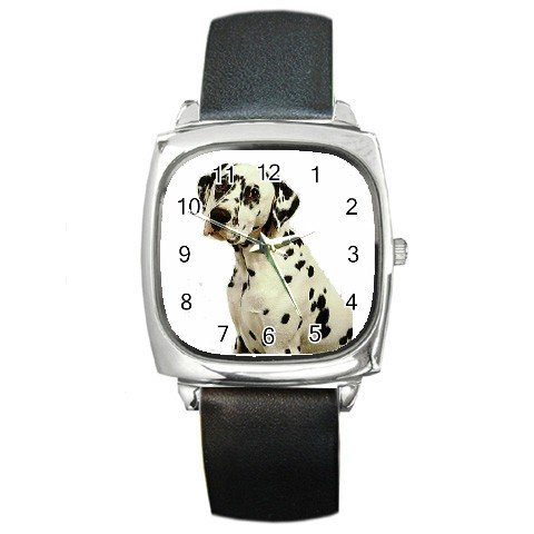 Dalmatian Square Metal Watch UNISEX 12100118