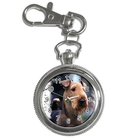 Airedale Terrier Key Chain Watch  12100160