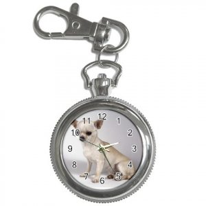 Chihuahua Dog Key Chain Watch  12102677
