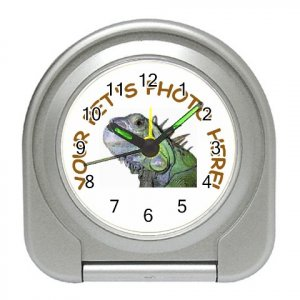 Your Pet Picture Customized Personalized Travel Alarm Clock 12114996