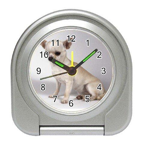 Chihuahua Dog Travel Alarm Clock  12102687