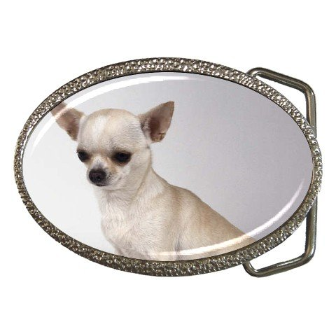 Chihuahua Dog Belt Buckle 12102676