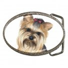 Yorkie Yorkshire Terrier Dog Belt Buckle  12110664