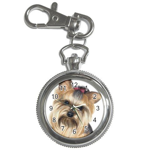 Yorkie Yorkshire Terrier Dog Key Chain Watch 12110665