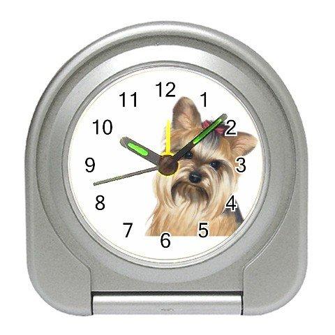 Yorkie Yorkshire Terrier Dog Travel Alarm Clock 12110673