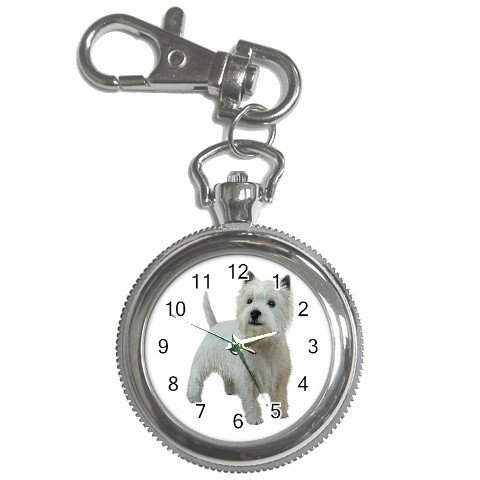 West Highland White Terriers - Westies - Dog Key Chain Watch 12111838