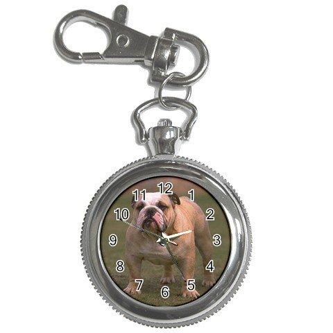 Bulldog Bull Dog Key Chain Watch  12124826