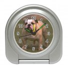 Bulldog Bull Dog  Pet Lover Travel Alarm Clock 12124835