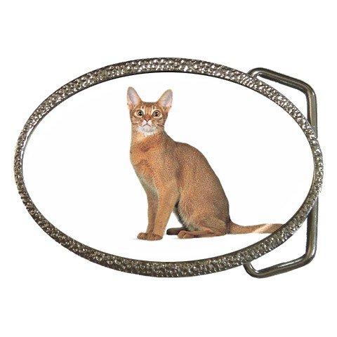 Abyssinian Cat Pet Lover Belt Buckle 12168395
