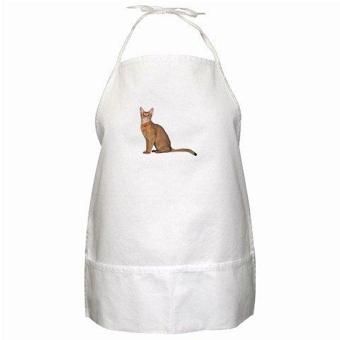 Abyssinian Cat Pet Lover BBQ Apron 12168419